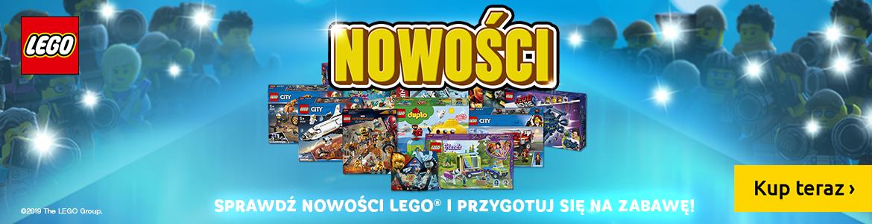 Klocki LEGO Nowości 2019