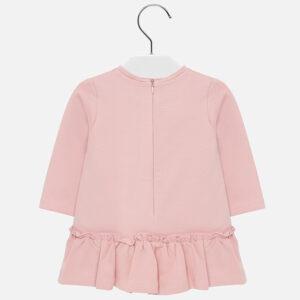 Mayoral Różowa sukienka dla dziewczynki