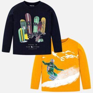 Mayoral zestaw koszulek dla chłopca