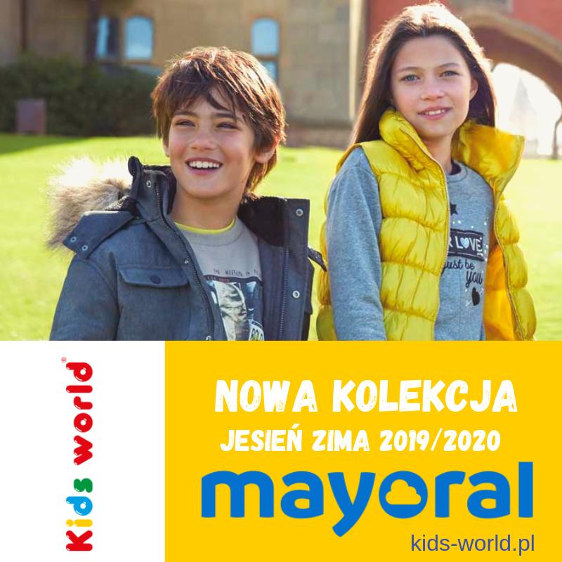 Mayoral Nowa kolekcja jesień zima 2019/2020
