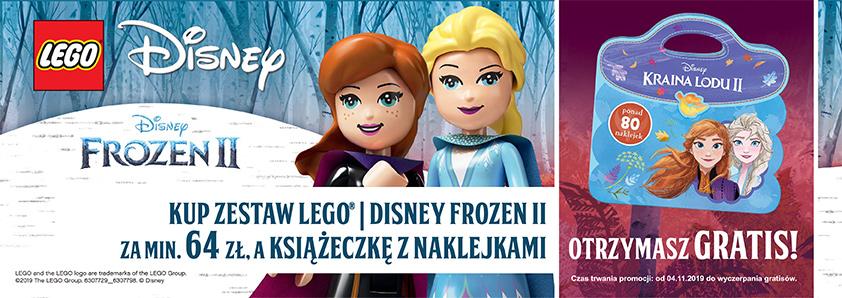 Promocja LEGO Disney FROZEN