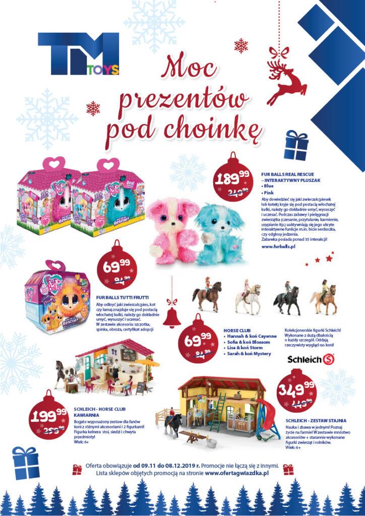 Moc świątecznych prezentów pod choinkę od TM Toys